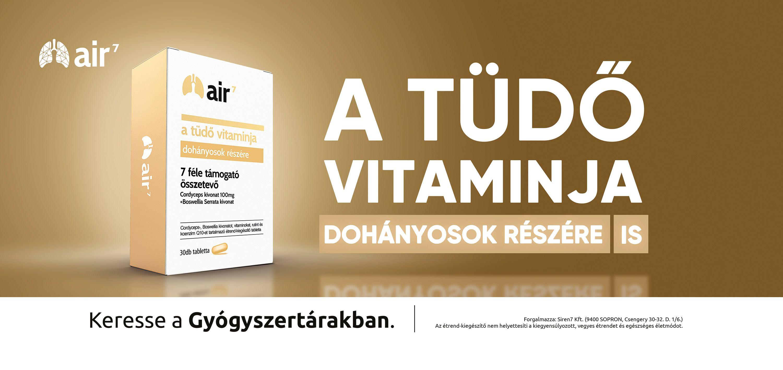 Kifejezetten dohányosok számára fejlesztettek vitamin készítményt