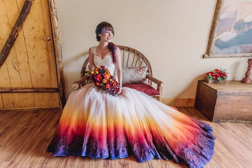 Egyedi ruhát készített esküvőjére, kisvállalkozás lett belőle