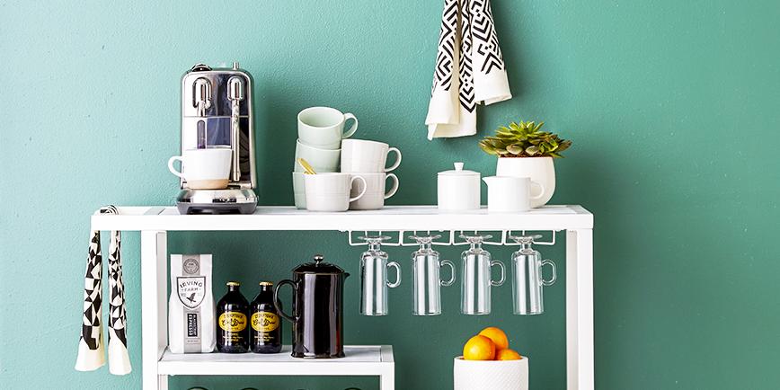 Szeretsz kávézni? Alakítsd ki a saját kis kávésarkod!
