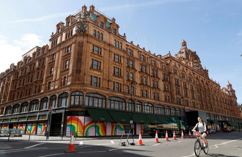 London ikonikus luxusüzlete