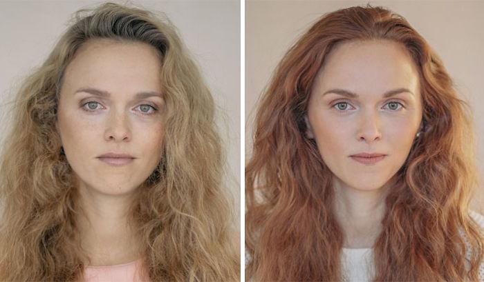 Fotók nőkről anyává válás előtt és után